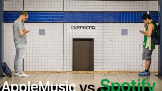 AppleMusicとSpotifyの比較