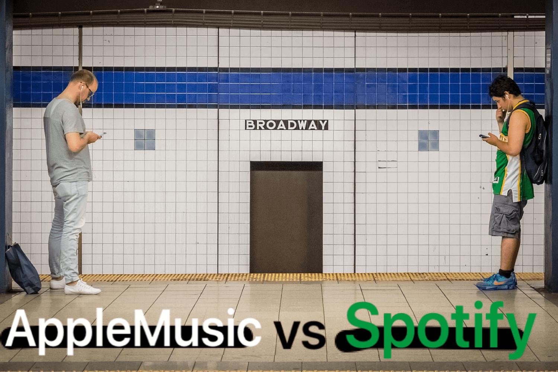 AppleMusicとSpotify【比較】あなたに合うのはどっち?