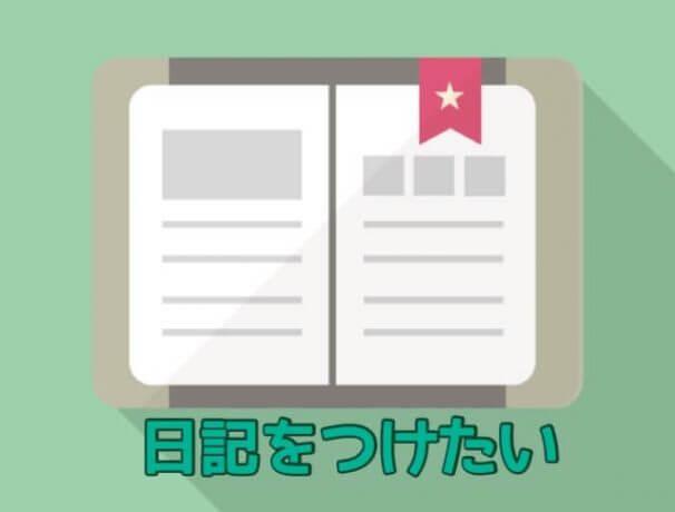 日記をつけるブログサービス