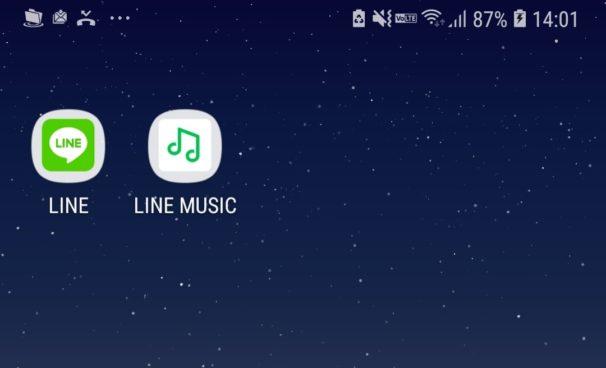 LINEの自分のプロフィールにラインミュージックのBGMを設定する方法