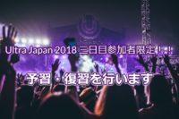 Ultra Japan 2018 3日目の絶対に知っておきたいDJ・曲【予習・復習】