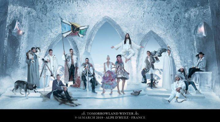 【Tomorrowland Winter 2019】第一弾の出演者・ラインナップを発表!!