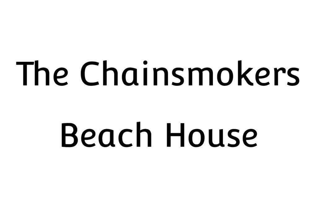 ザ・チェインスモーカーズ、新曲「Beach House」の音源とMVをYoutubeに公開!