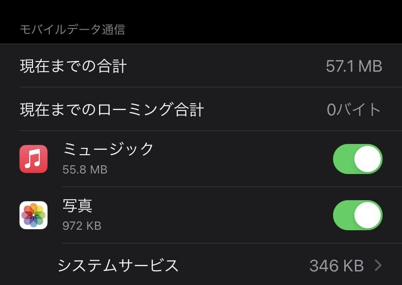 Apple Musicの通信量はどのくらい消費する?5つの節約法