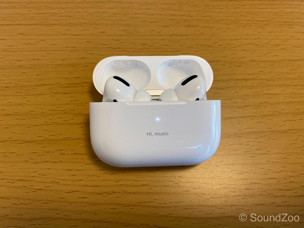 AirPods Proを実機レビュー!外の音は聞こえるし、聞こえない。