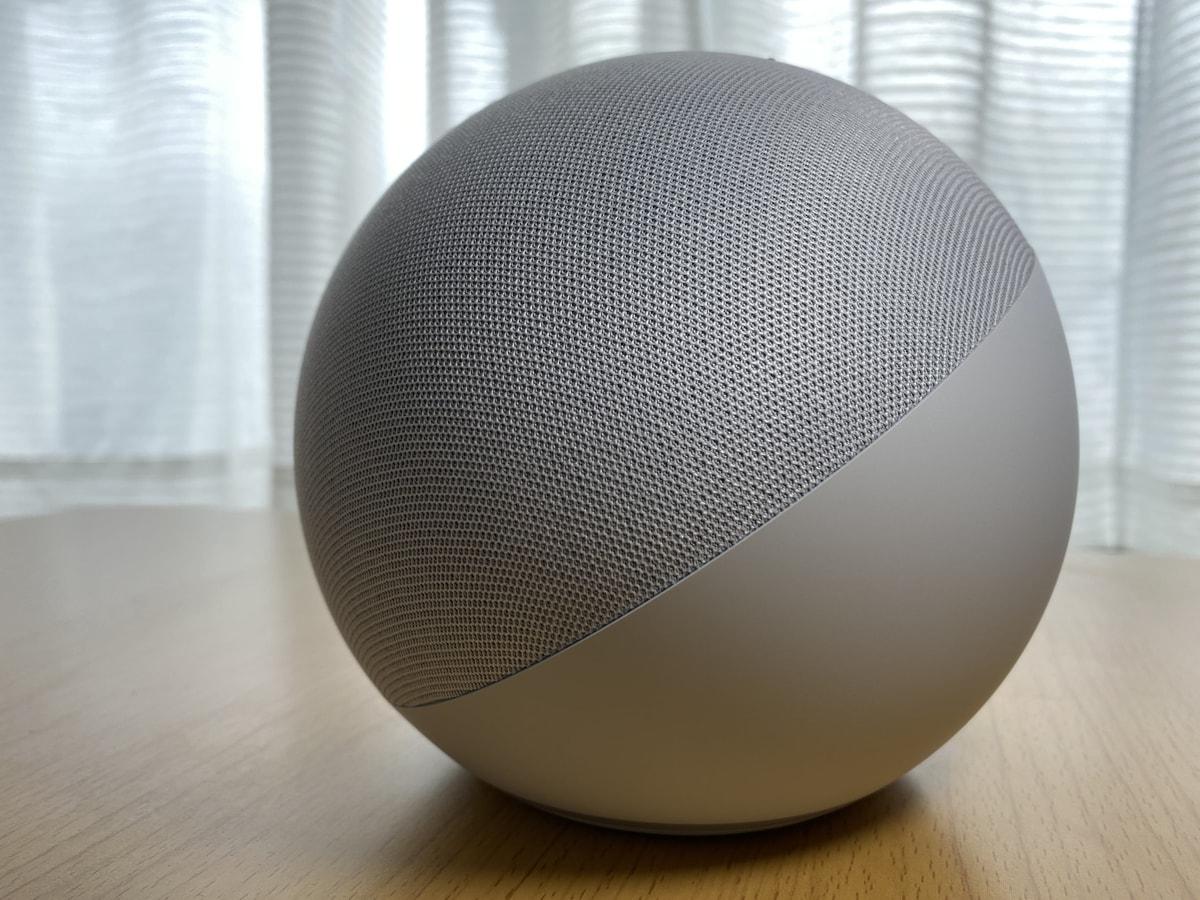 Amazon Echo(第4世代)を実機レビュー!球体になって音質がさらにレベルアップ!