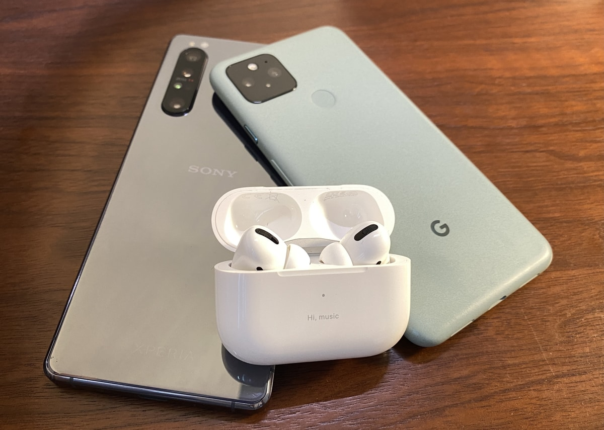 AndroidでAirPods Proを使う
