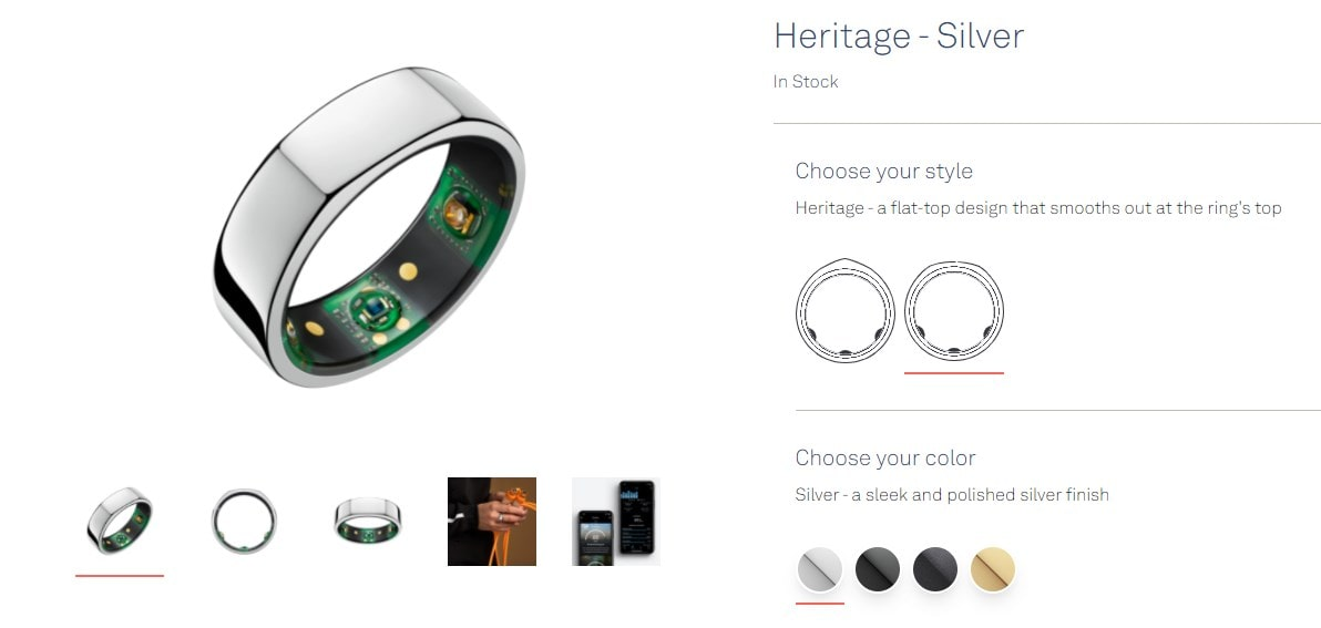 Oura Ringの種類