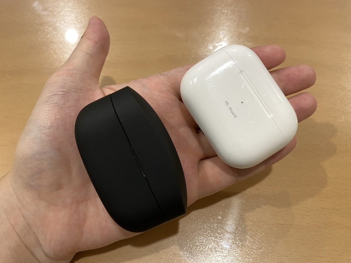 AirPods ProとWF-1000XM4を比較